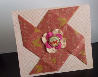 origami heart card instructions