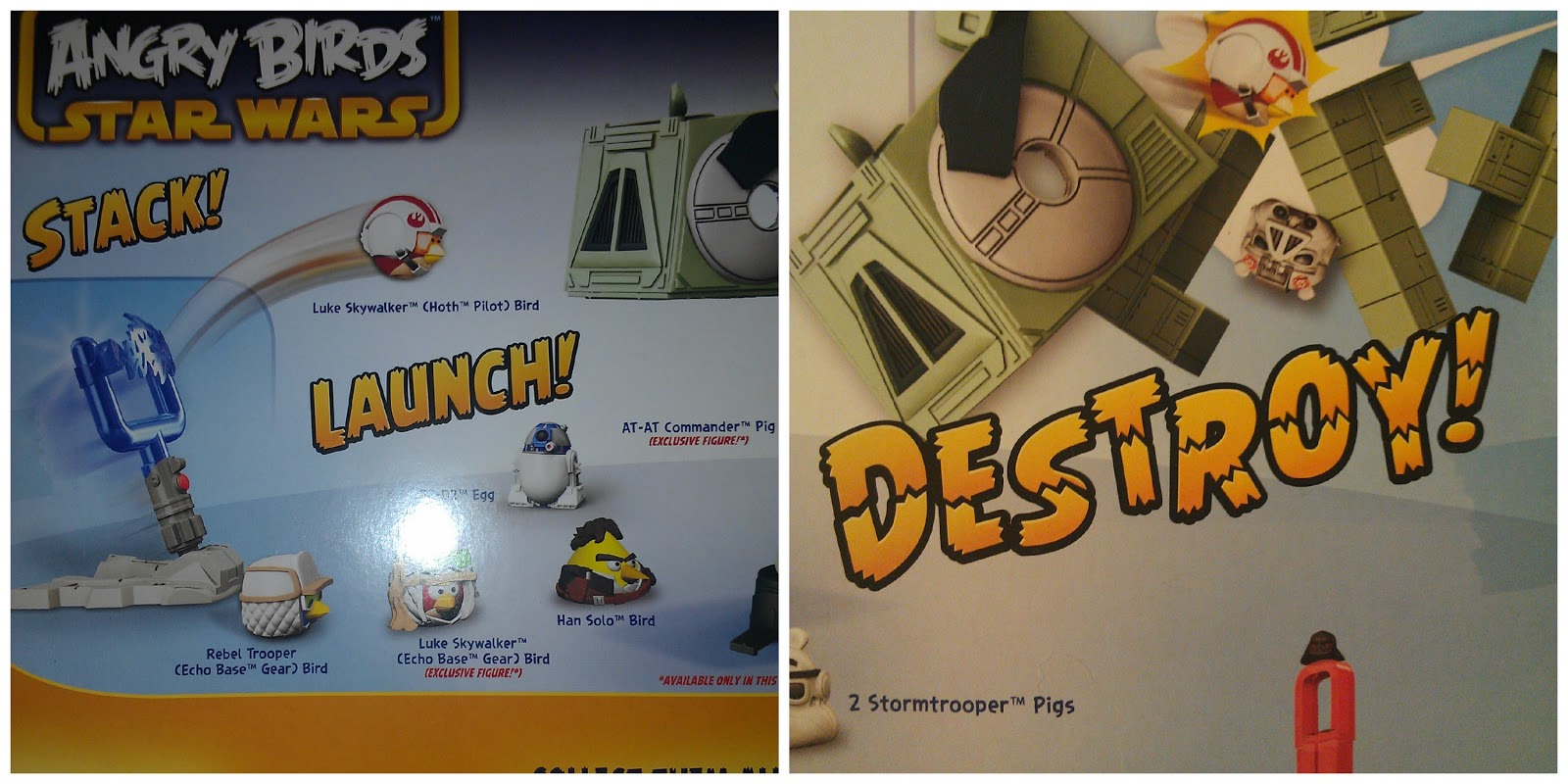 angry birds star wars at at attack battle game instructions
