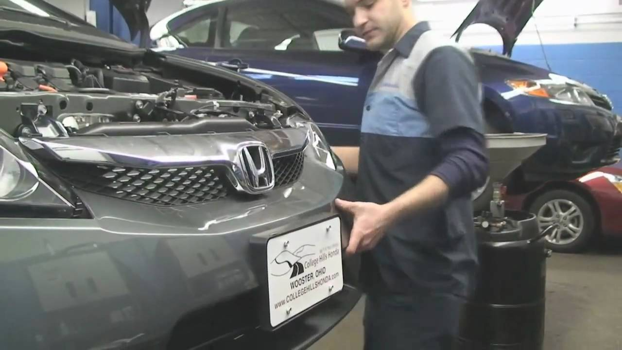 honda civic fog light installation instructions