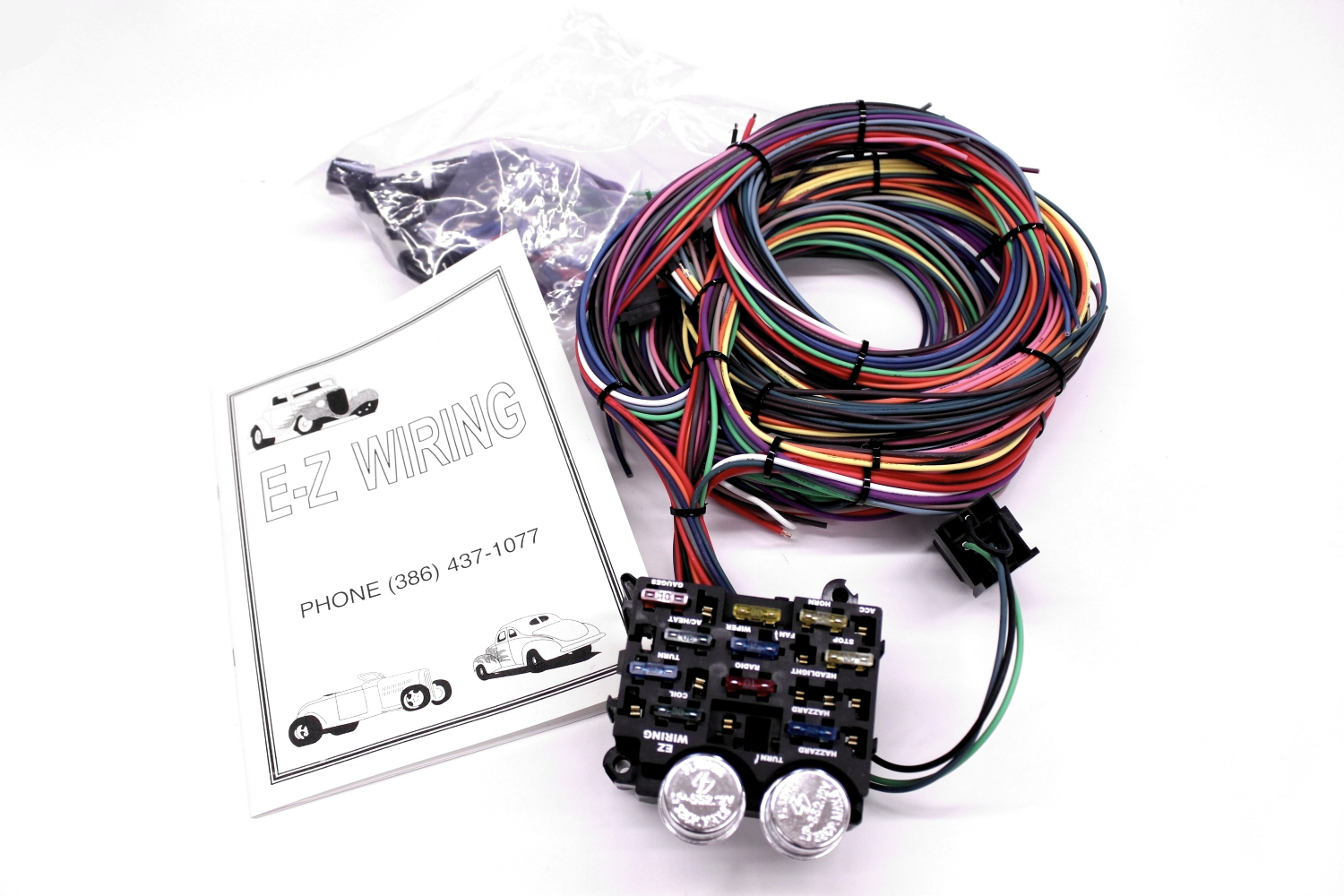 ez wiring harness instructions