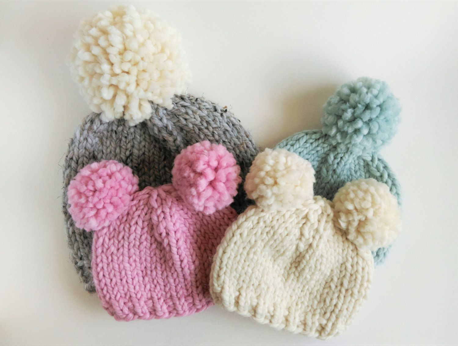 knitting instructions for baby hats