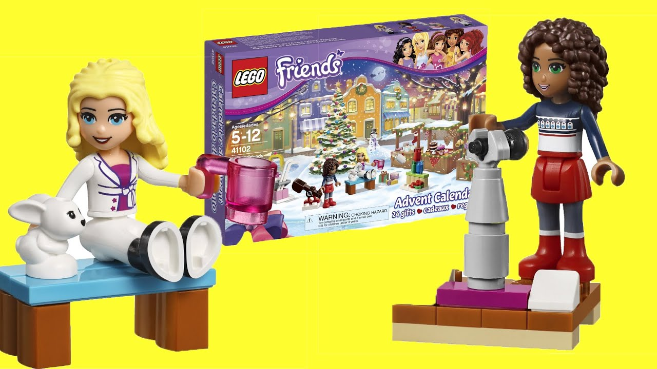 lego friends advent calendar 2015 instructions
