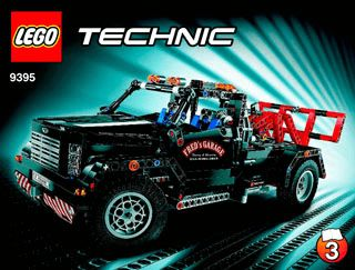 lego technic pickup tow truck instructions